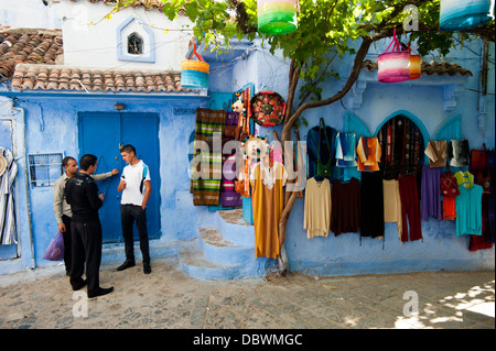 Chefchaouen, Rif region. Morocco.North Africa. - Stock Photo