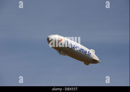 Zeppelin NT 07,Flywithme,Val d'Oise region,France - Stock Photo