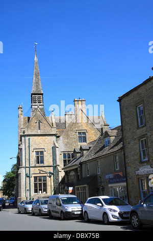 St Edwards Hall Stow on the Wold - Stock Photo