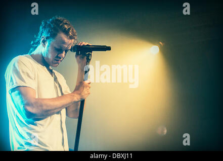 Imagine Dragons performing live at Metro in Chicago, IL - Stock Photo