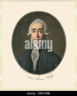 Jean-Sylvain Bailly (1736 – 1793) French astronomer, mathematician, freemason and political leader of the early - Stock Photo