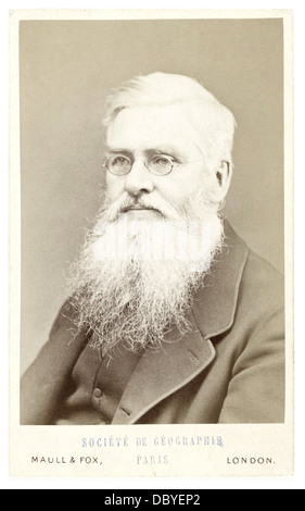 Alfred Russel Wallace (1823 – 1913), British naturalist, explorer, geographer, anthropologist and biologist. Best - Stock Photo