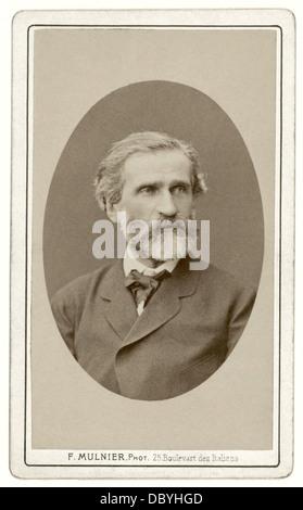 Giuseppe Verdi (1813-1901) Stock Photo