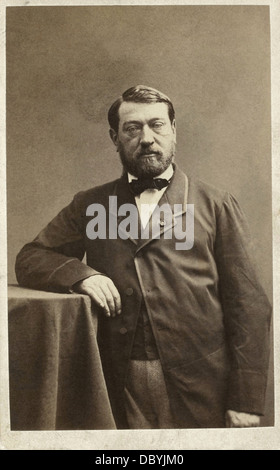 Auguste Mariette (1821-1881), french egyptologist, ca.1861. - Stock Photo