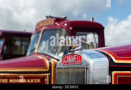 1965 Scammell Highwayman. The Imposter. Scammell Showmans Ballast tractor - Stock Photo
