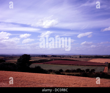 Flodden Field 1513 the site of the battle near the village of Branxton Northumberland England - Stock Photo