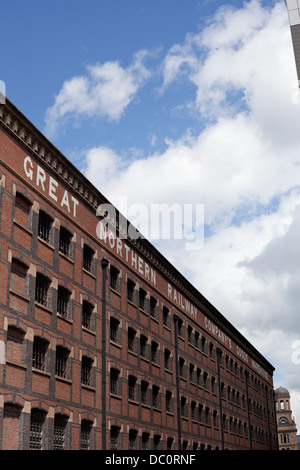 The Great Northern Warehouse in Manchester. - Stock Photo