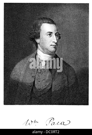 1700s 1770s 1776 WILLIAM PACA SIGNER OF DECLARATION OF INDEPENDENCE MEMBER OF CONTINENTAL CONGRESS FROM MARYLAND - Stock Photo