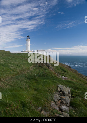 Mull of Galloway Lighthouse Most Southerly Point in Scotland - Stock Photo