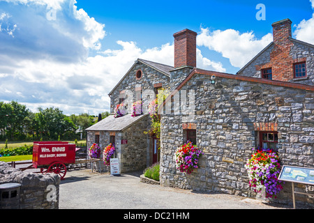 Skerries Mills Museum, county Dublin, Ireland - restored old mill and Bakery - Stock Photo