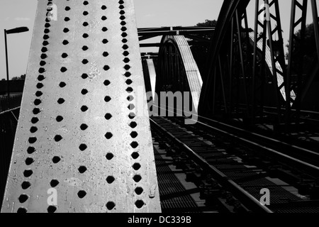Barnes Railway Bridge, Barnes, London, UK Stock Photo