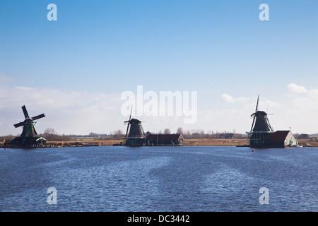 Europe,Netherlands,North Holland, Zaandam,Zaanse Schans, - Stock Photo