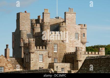 The Castle of Mey, Caithness, Scotland, UK - Stock Photo