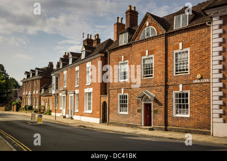 BUILDINGS IN OLD TOWN STRATFORD  UPON AVON,OPPOSIRE HALLS CROFT,SHAKESPEARES SON IN LAW HOUSE, MEDICAL DOCTOR, - Stock Photo