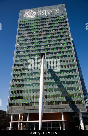 KPN building by Renzo Piano Rotterdam Netherlands - Stock Photo