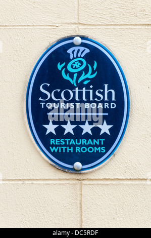 Scottish Tourist Board four star Restaurant With Rooms, The Creel in St Margaret's Hope, South Ronaldsay, Orkney. - Stock Photo
