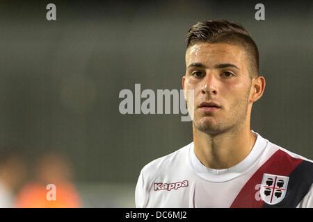 Nicola Murru (Cagliari), AUGUST 7, 2013 - Football / Soccer : Friendly match between Cagliari 0-0 Real Valladolid - Stock Photo