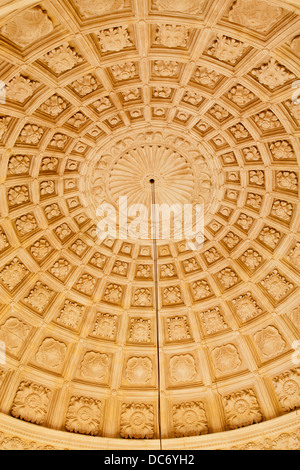 TOLEDO - MARCH 8: Ceiling of stairs in Monasterio San Juan de los Reyes or Monastery of Saint John of the Kings - Stock Photo