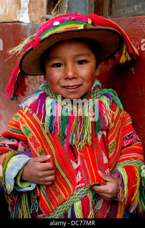 Cute Little Girl From Cusco, Peru Editorial Photo - Image