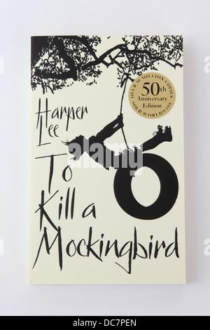 The classic novel To Kill a Mockingbird by Harper Lee. - Stock Photo