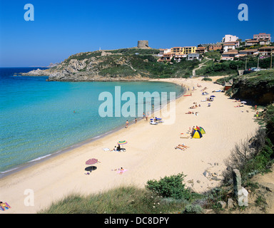 Santa Teresa Gallura beach, Costa Smeralda, Sardinia, Italy - Stock Photo