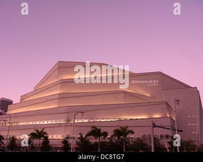 ADRIENNE ARSHT PERFORMING ARTS CENTER MIAMI FLORIDA USA - Stock Photo