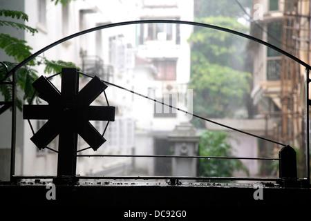 Mumbai,Museum,Charkha,Spinning Wheel,Mahatma Gandhi,Laburnum Road,Mani Bhawan,Memorial,Tourist Destination,Symbolic, - Stock Photo