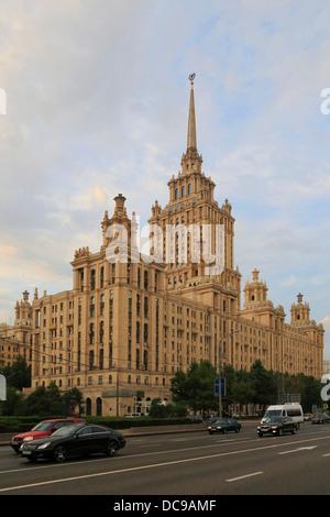 Hotel Radisson Royal Moscow, former Ukraina Hotel, on Kutuzovsky Prospekt