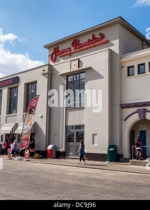 Harry Ramsdens, famous fish and chip restaurant - Bournemouth, Dorset - Stock Photo
