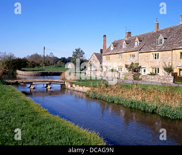 River Eye, Lower Slaughter, Cotswolds, Glocestershire, England, UK, Western Europe. - Stock Photo