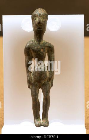 Ex Voto, Iberian Sanctuary Museum of the «Cueva de la Lobera», Castellar, Jaen-province, Region of Andalusia, Spain, - Stock Photo
