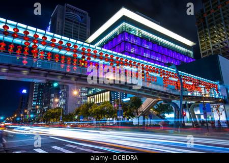 Cityscape in Taipei, Taiwan. - Stock Photo