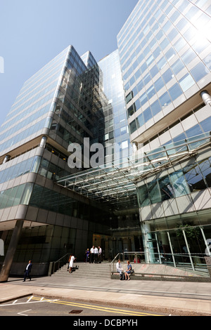 25 north colonnade headquarters of the financial conduct authority canary wharf London England UK - Stock Photo
