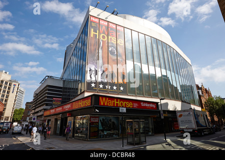the new london theatre national theatre war horse London England UK - Stock Photo