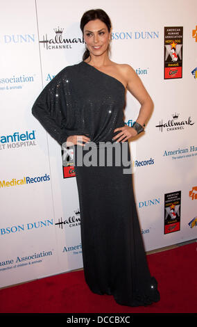 Michelle Forbes      The American Humane Association's First Annual Hero Dog Awards at The Beverly Hilton hotel - Stock Photo