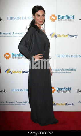 Michelle Forbes The American Humane Associations first annual Hero Dog Awards at The Beverly Hilton hotel Beverly - Stock Photo