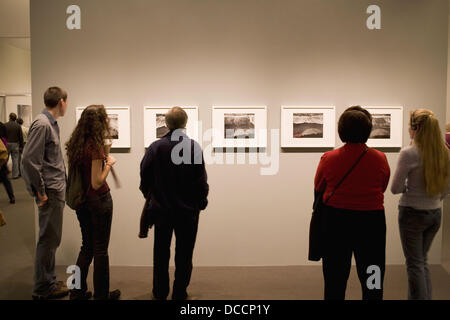 Ansel Adams prints at Museum of Fine Arts, Boston, MA, USA - Stock Photo