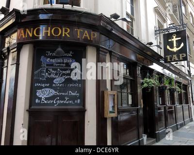 The Anchor Tap Samuel Smiths Pub Southwark London - Stock Photo