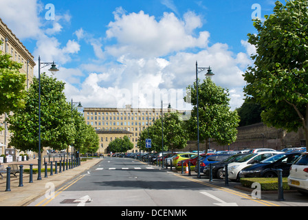 Dean Clough Mills, Halifax, West Yorkshire, England UK - Stock Photo