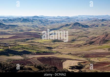 Tigrigra Valley, Middle Atlas, Morocco - Stock Photo