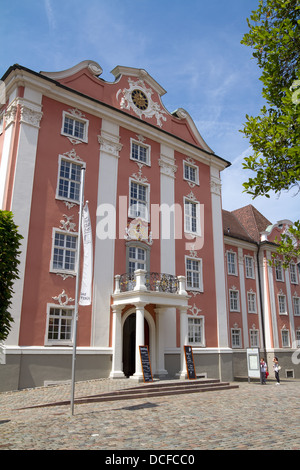 New Castle, Meersburg, Bodensee district, Baden-Wuerttemberg, Germany, Europe - Stock Photo