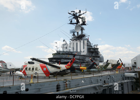 Intrepid Sea, Air and Space Museum - Stock Photo