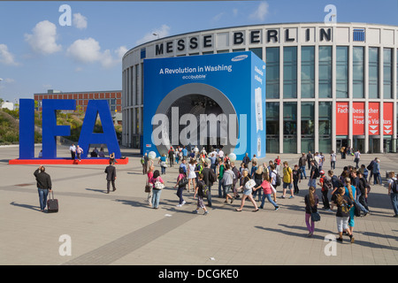 Exhibition hall of Samsung at the IFA Internationale ...