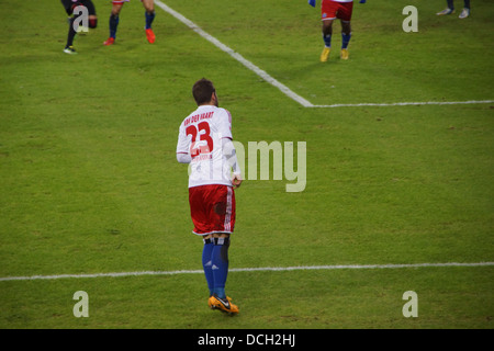 The football player Rafael van der Vaart from the team Hamburger Sportverein HSV Hamburg - Stock Photo