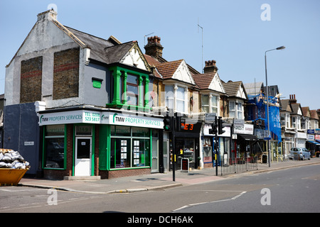 brighton terrace built in 1900 forest road walthamstow e17 London England UK - Stock Photo