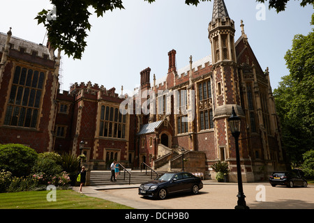 lincolns inn library and great hall London England UK - Stock Photo