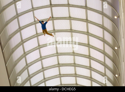 Museum of Fine Arts Boston MA galleries - Stock Photo