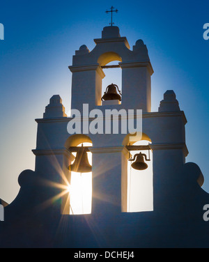Mission San Juan Capistrano in San Antonio, Texas - Stock Photo