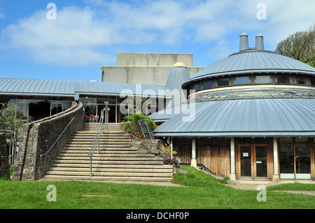 The Round Studio performance space at Aberystwyth Arts Centre on the Penglais Campus of Aberystwyth University. - Stock Photo
