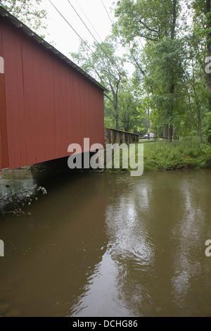 Ashland Covered Bridge Over Red Clay Creek Hockessin
